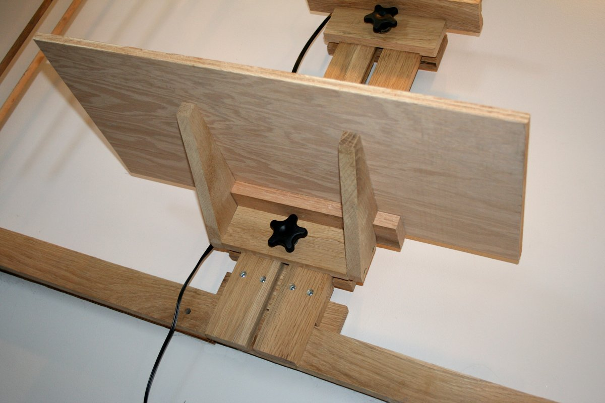 Shelf On Mast