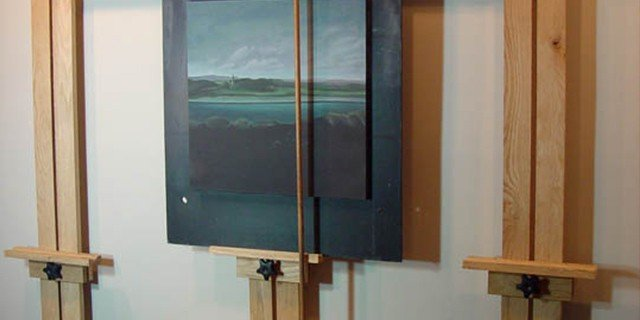 Space Saving Wall Easel