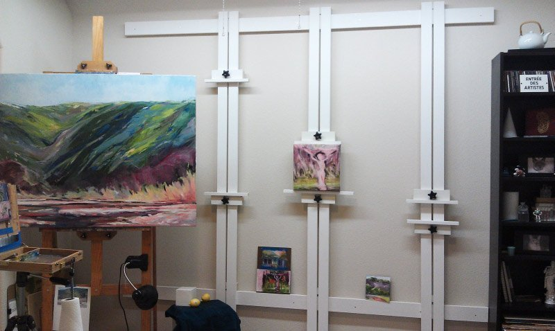 Wall Easel - Alexis McCarthy