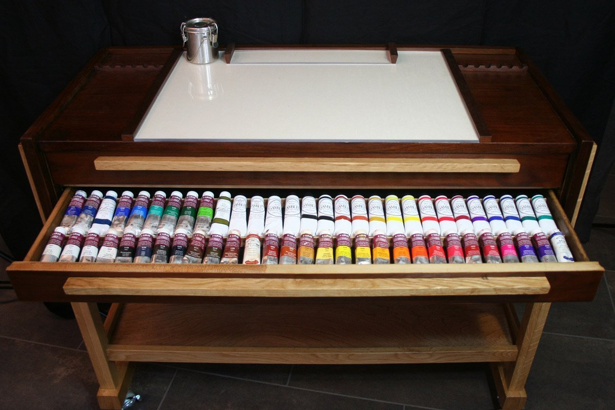 Taboret Paint Drawer