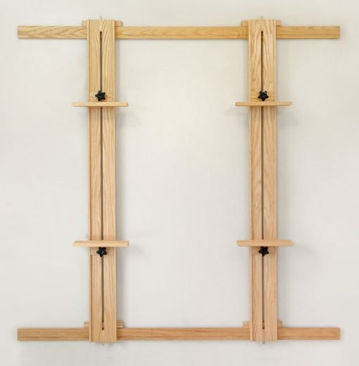 66 Inch Wall Easel with Standard Holders