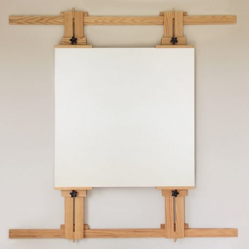 66 Inch Wall Easel with Canvas
