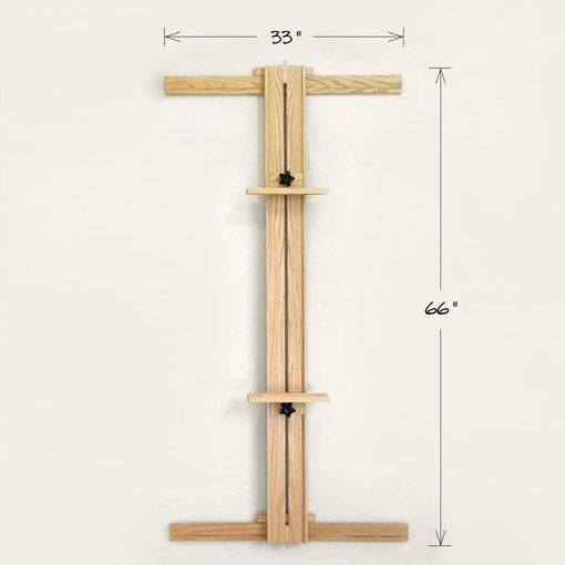 33x66 Wall Easel One Mast
