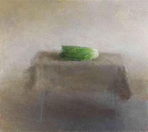 Lettuce Still Life by Daniel Enkaoua