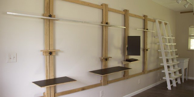 Space Saving Wall Easel Revisted