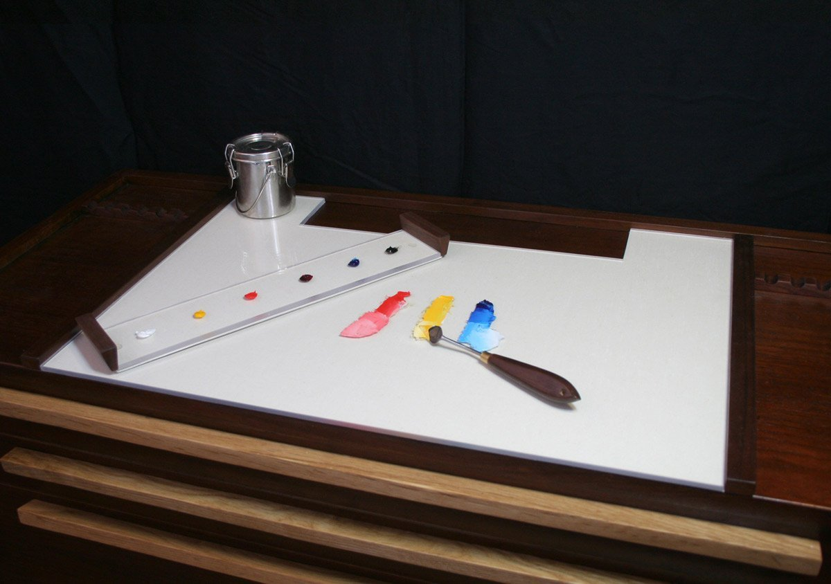 Taboret Removable Palette Tray