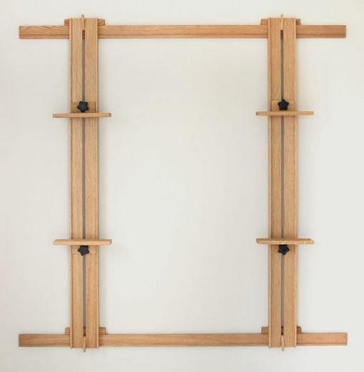 66 Inch Wall Easel - White Oak