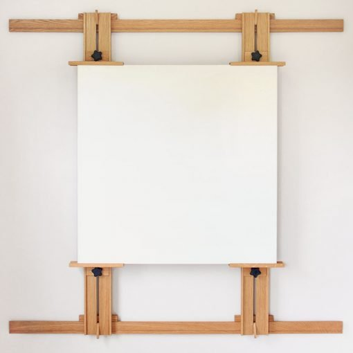 66 Inch Wall Easel - With Large Canvas