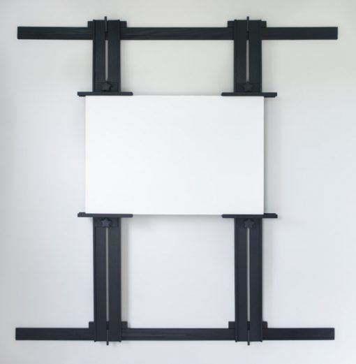 Ebonized Tueller Oak Wall Easel