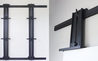 New Finish – Ebonized Oak Tueller Wall Easels