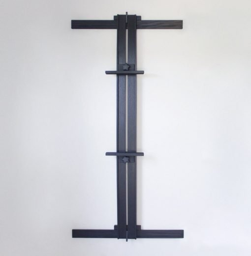 33 x 66 Ebonized Oak Wall Easel