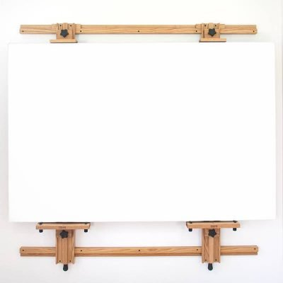 Model 266 Wall Easel holding 48x72 Panel