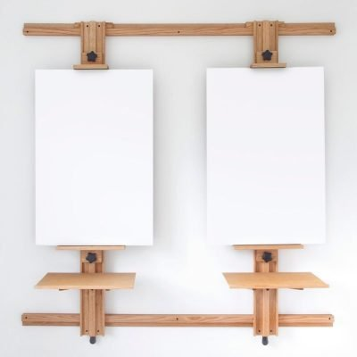 Tueller Wall Easel Model 266 with Optional Work Trays