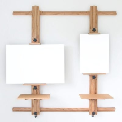 Wall Easel 366 with Optional Work Trays