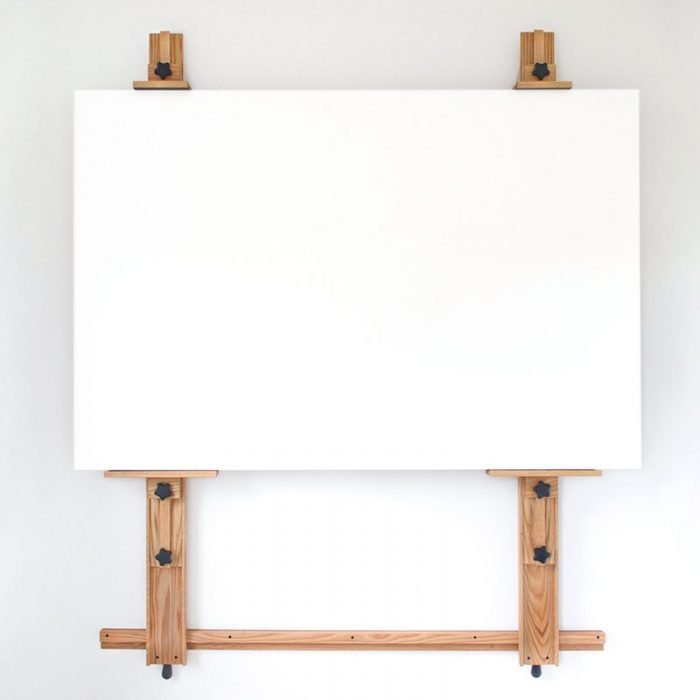 Wall Easel 366 with 72X48 inch Panel Raised