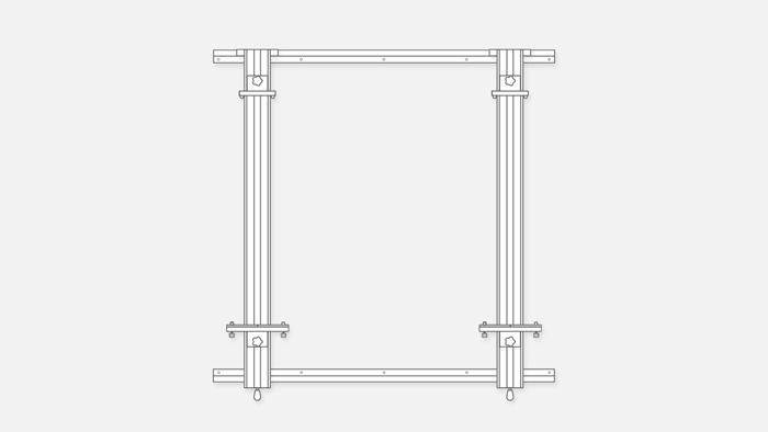 Wall Easel 066-2-266