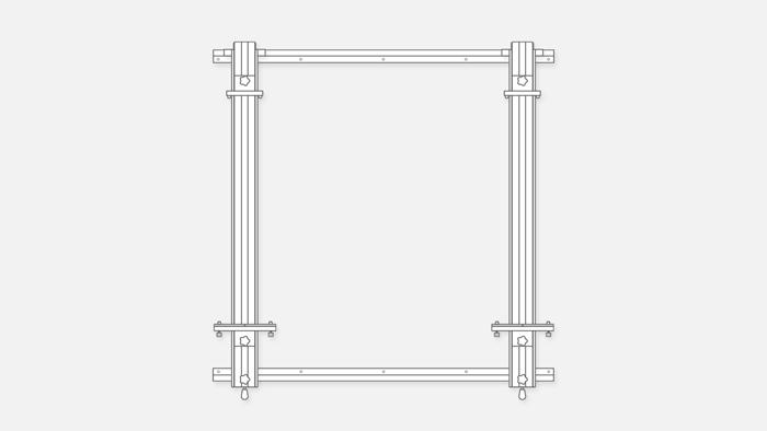 Wall Easel 066-2-366