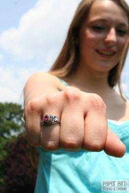 Kayla - Class Ring